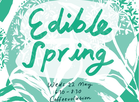 Edible Spring - a free event in Huddersfield