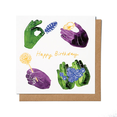 Little Treasures Collection Square Greetings Cards