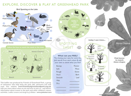 New Resource - Nature & Play Activities to do at the park