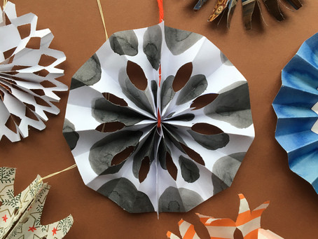 How to Make - Paper Snowflake Tutorial for The Hepworth Wakefield
