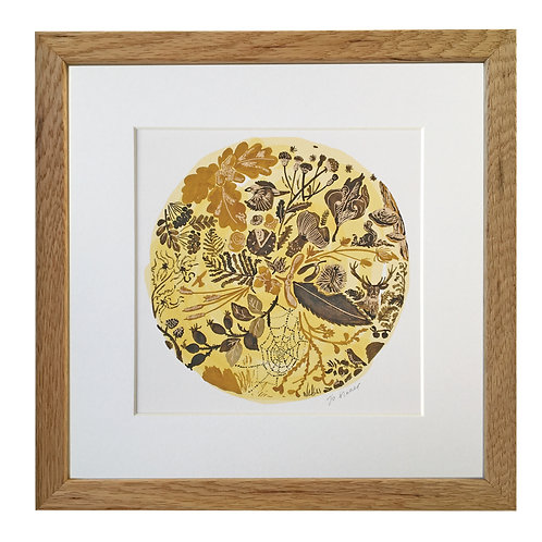 Autumn Mounted/Framed Giclee