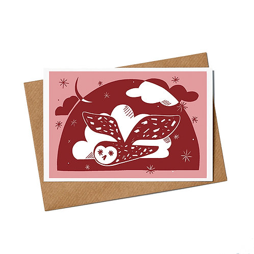 Owls Greetings Cards