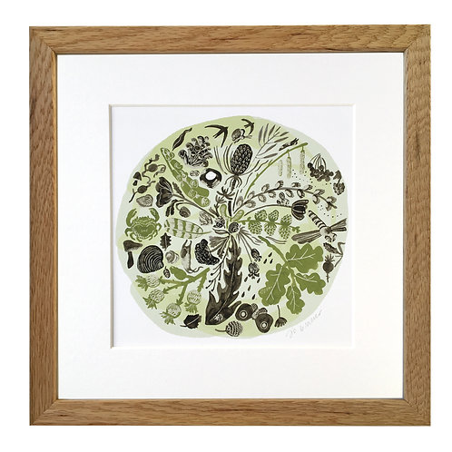 Green Time Mounted/Framed Giclee