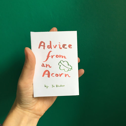 Advice From An Acorn Pocket Book