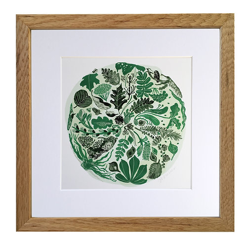 Trees Mounted/Framed Giclee