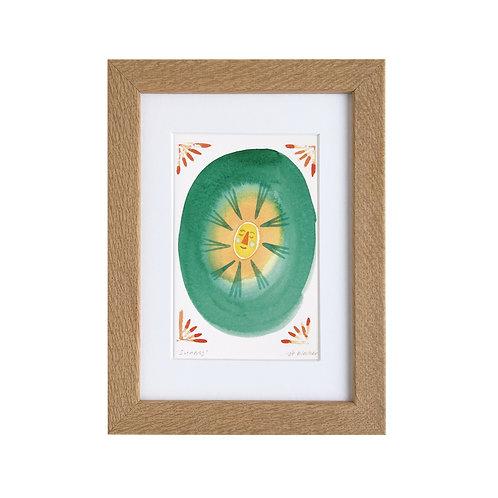 'Sunny' Mounted/Framed Print
