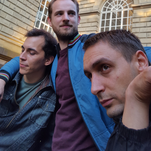 Alexandro Böhme, Andreas Jonak und Jonathan Auth