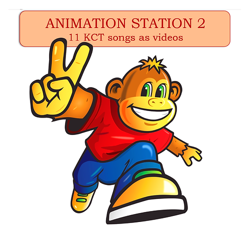 Animation Station - Set 2 (11 videos)