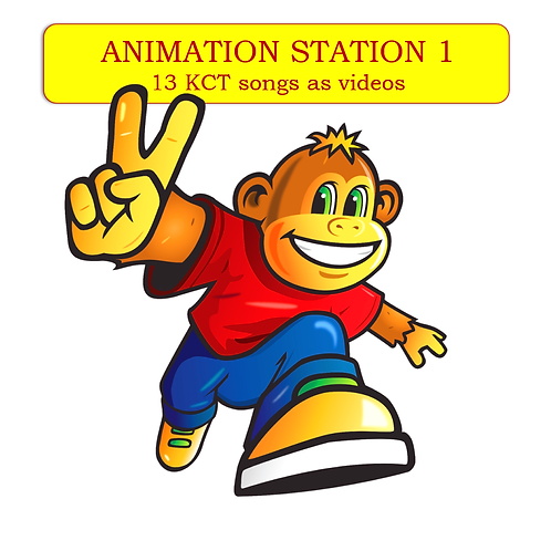 Animation Station - Set 1 (13 videos)