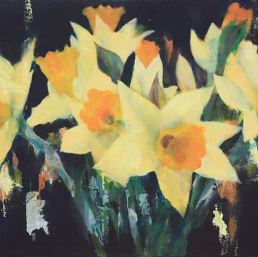 Gelb des Frühlings