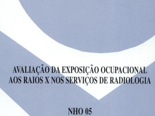 NHO - NORMA DE HIGIENE OCUPACIONAL