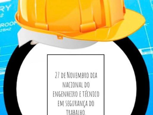 27 De Novembro Dia Nacional De Segurança No Trabalho