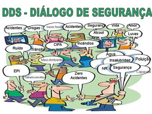 Como estão os Diálogos Diários de Segurança na sua empresa?👷🏽♂️💬👷🏽♀️💭  Os famosos DDS... ⚠