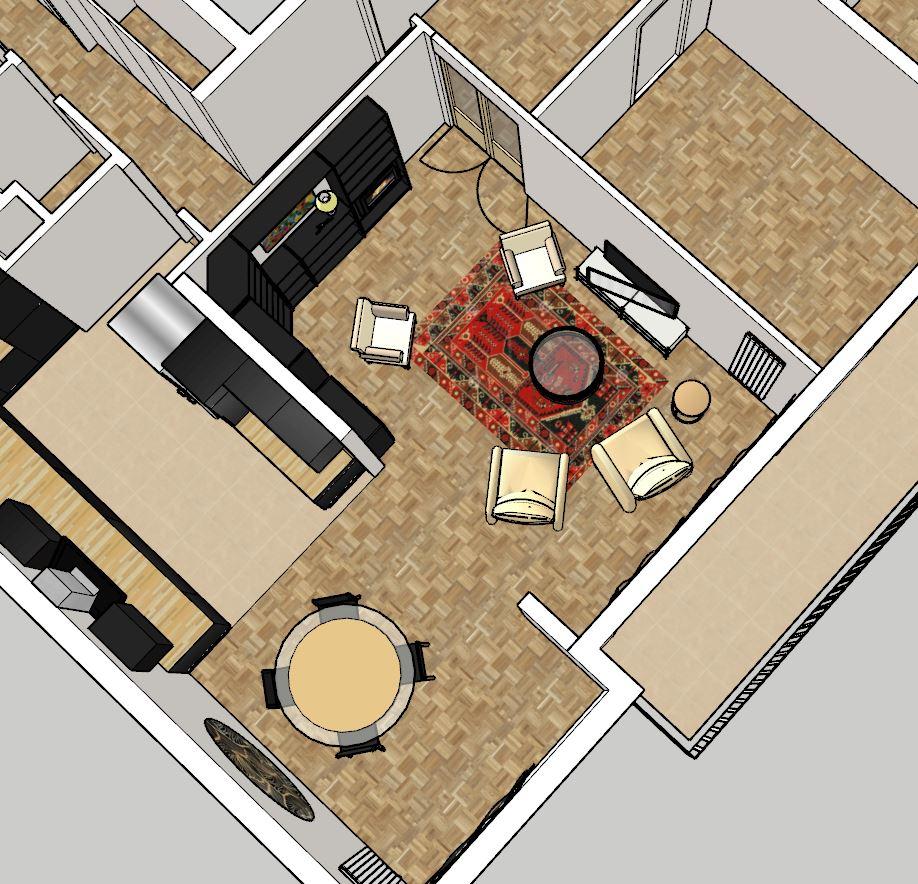 APT NICOLI - agencement salon version 1.