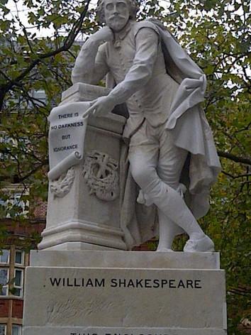 Shakespeares Statue
