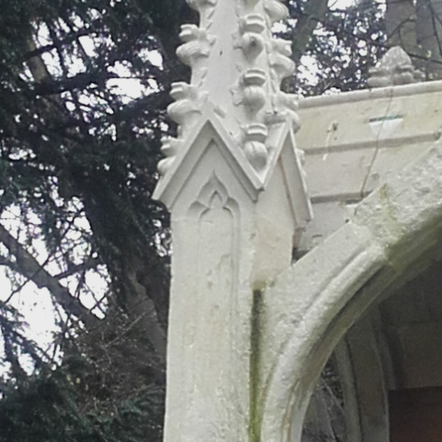 Replacement finial.