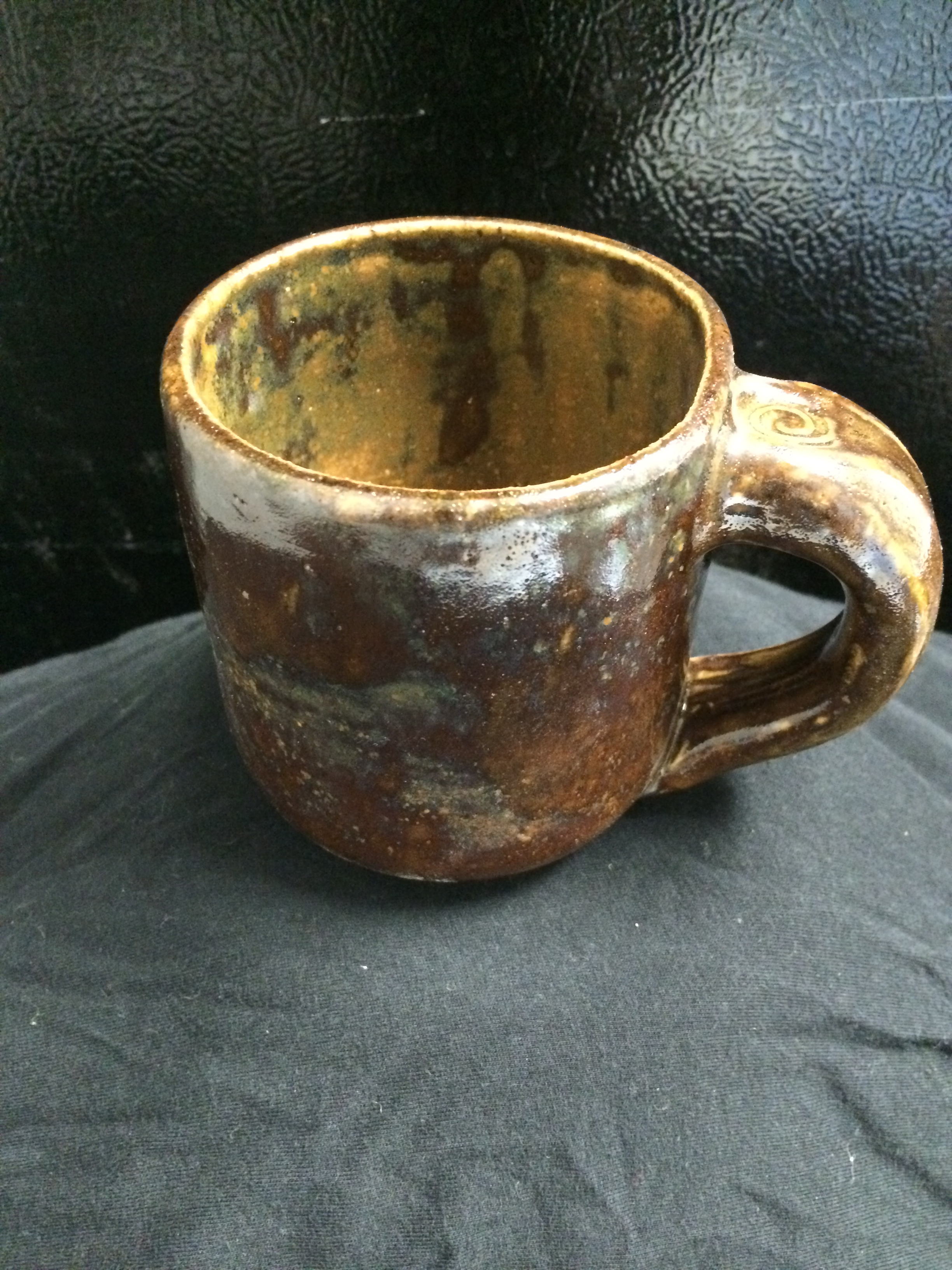 calico mug