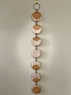 Moon phase hanging (2ft long)