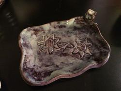 Owl/Sunflower soap dish