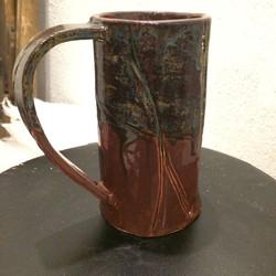 black walnut mug