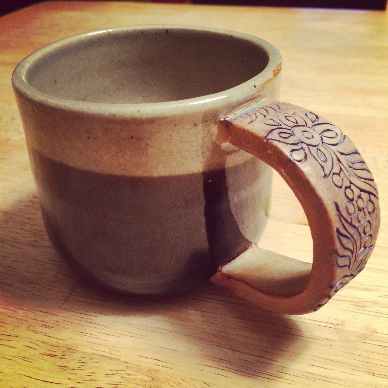 coffee w/cream mug