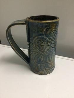 lace mug - sold