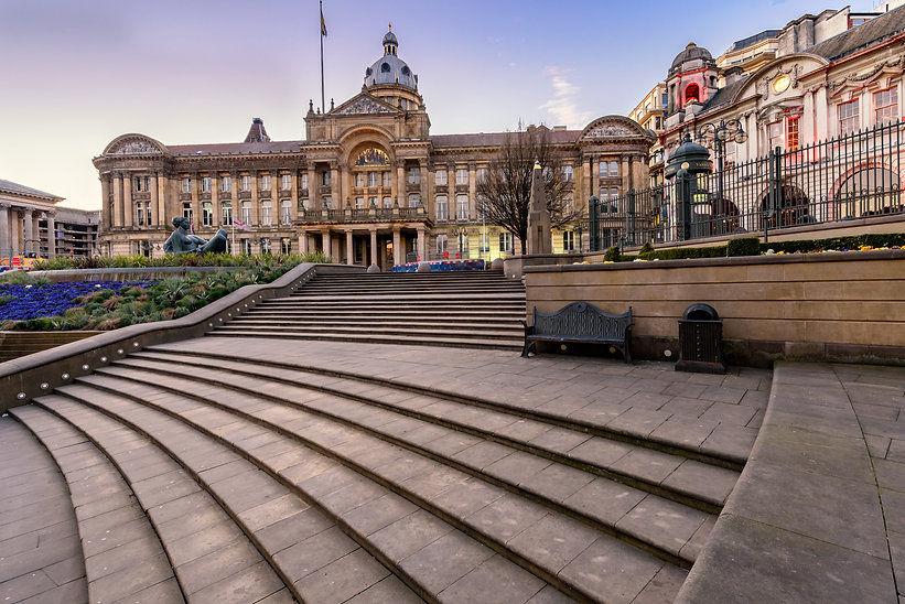 Victoria Square in Birmingham, England,