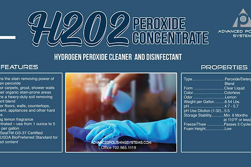 H202 PEROXIDE DESINFECTANT