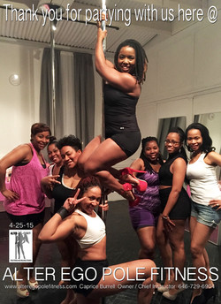 Parties @ Alter Ego Pole Fitness!