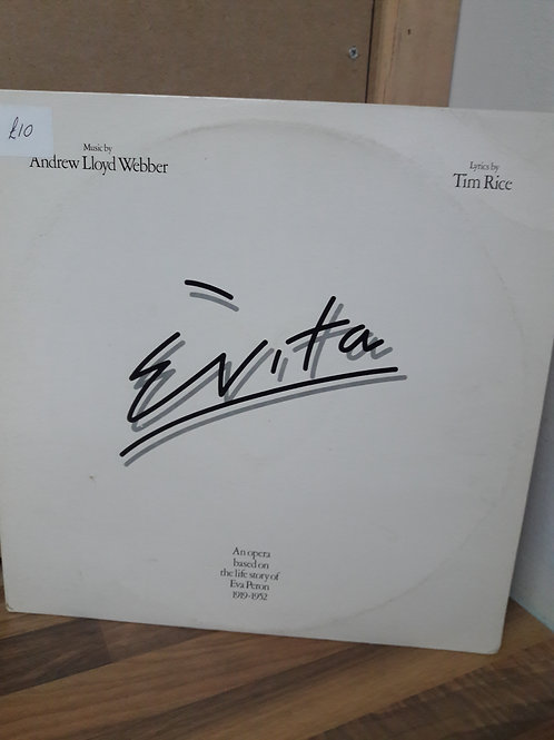 Evita Double Vinyl Album
