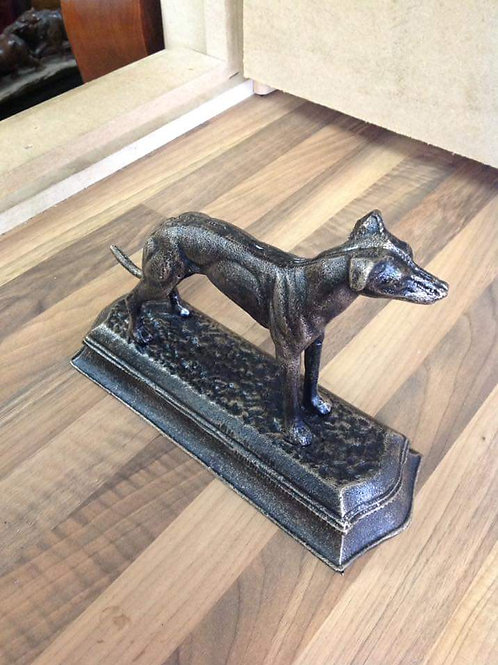 Greyhound/Whippet statue