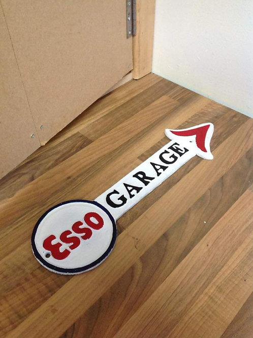 Esso Garage Arrow Sign
