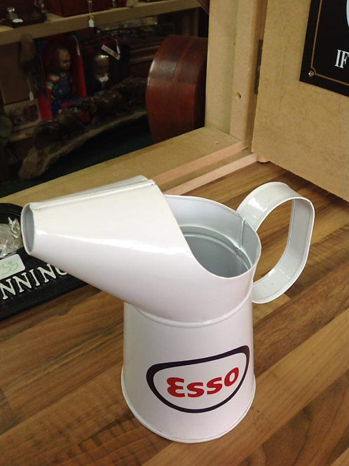Decorative Esso Oil Measuring Jug