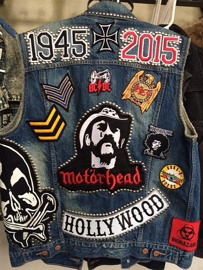 LEMMY MOTORHEAD Tribute Vest