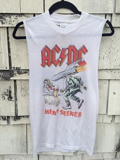 1988 ACDC Heat Seeker Tour Shirt S/M
