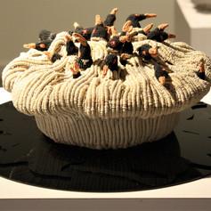 Four and Twenty  (black birds baked in a pie)
