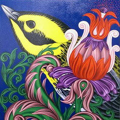 Americana #7 Townsend's Warbler