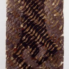 Tim Harding Shroud – Falling Man  (VERSO) Dupioni silk and organza  118 x 42 x 2d inches $14,000