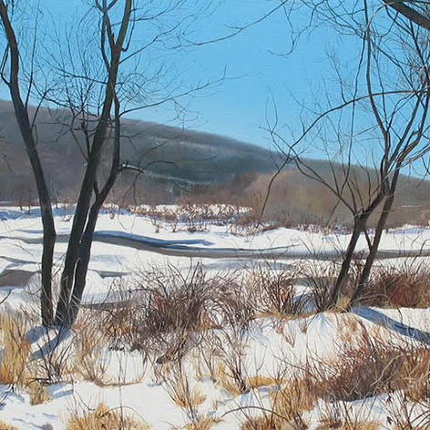 Winter, Delaware Water Gap