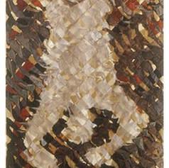 Tim Harding Shroud – Falling Man  Dupioni silk and organza  118 x 42 x 2d inches $14,000