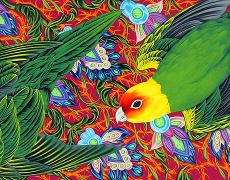 Americana #16 Carolina Parakeet
