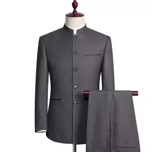 BENDOLPH GREY SINGLE LINE SUIT