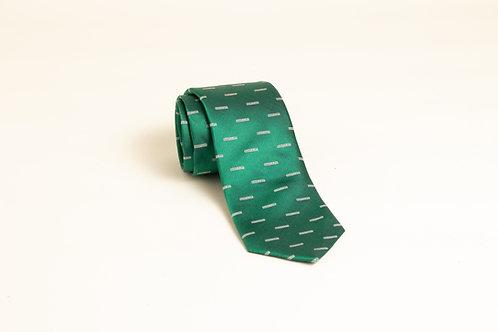 BENDOLPH green silk tie
