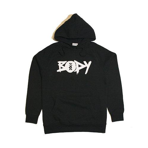 Yah Body Black Hoodie