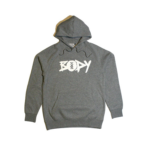 Yah Body Gray Hoodie