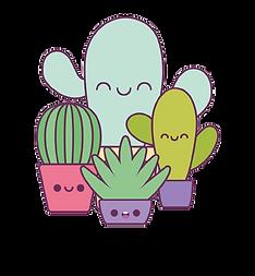 kawaii-cactus-plants-cartoons-design-vec