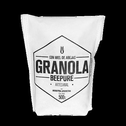 Granola con Miel - BEEPURE Ecobolsa 500g