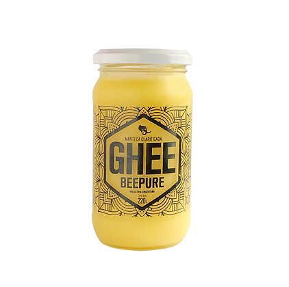 Ghee Manteca Clarificada - BEEPURE Frasco 270 G