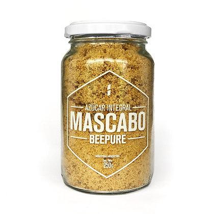 Azúcar Integral Mascabo - BEEPURE Frasco 250g