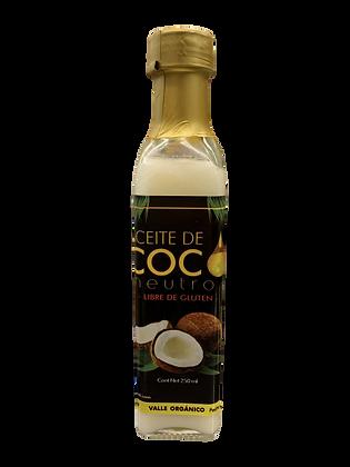 Aceite De Coco Neutro, Sin Tac 250ml